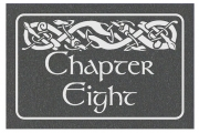 Celtic Animals Engraved Sign