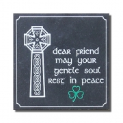 Celtic Cross Engraved Memorial