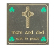 Celtic Cross Patrick  Engraved Memorial