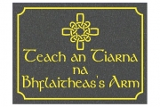 Celtic Cross Siobhan Sign