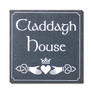 Claddagh Heart House Sign