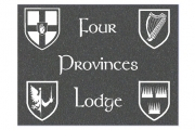 Four Provinces House Plaque