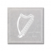 Harp Coaster (Set of 4)