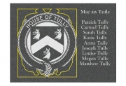 House of Tully Plaque