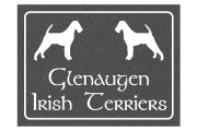 Irish Terrier House Sign