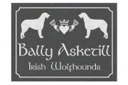 Irish WolfHound Claddagh Sign