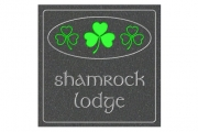 Three Shamrock House Sign