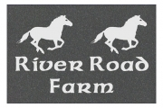 Celtic River Road Farm Engraved Sign