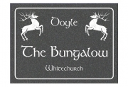 Celtic Stag  Engraved Sign