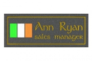 tricolour Name Plaque